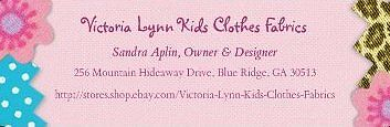 Victoria Lynn Kid's Clothes-Fabrics