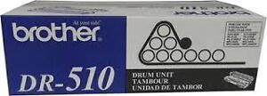 New Factory Sealed Genuine Brother DR-510 Drum Cartridge