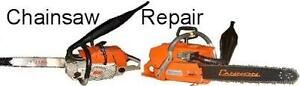 CHAIN SAWS/WOOD CHIPPERS TUNE-UPS, SERVICE & REPAIRS