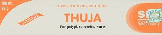 THUJA Homeopathic Cream For POLYPI & WARTS (FAST SHIPPING From California)