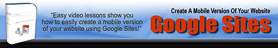 How To Create A Mobile Version Of Your Website Using Google Sites  Videos On Cd