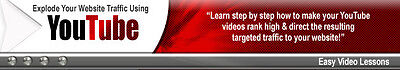 Learn How To Explode Your Website Traffic Using YouTube Video Tutorials on CD