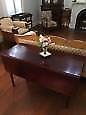 EXQUISITE ANTIQUE DROP LEAF TABLE
