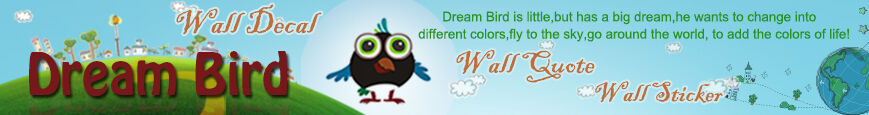 Dream Bird Vinyl Graphics