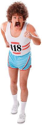 er Kostüm NEU - Herren Karneval Fasching Verkleidung Kostüm (Sportler Kostüm)