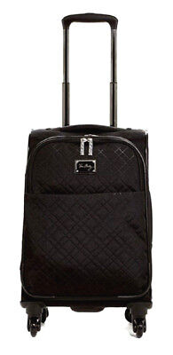 Rolling Luggage (Vera Bradley Rolling Luggage 22 inch Spinner Carry-On Classic Black NWT )