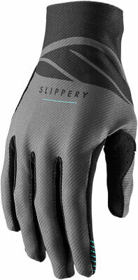 Slippery Wetsuits - Flex Lite Watercraft Gloves (Charcoal Gray/Black) L (Large)