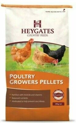 Heygates Poultry Growers Pellets Prevents Coccidiosis - 1kg