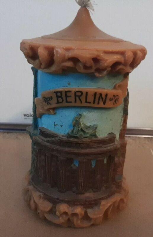 Vintage Walldurn Kerze Baden Johann Gunter German Eternal BERLIN Candle