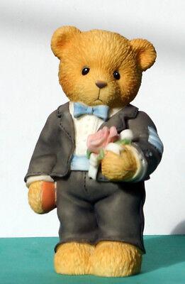 Cherished Teddies - Groomsman Figur - Trauzeuge  -  NEU - 476366 (RETIRED)