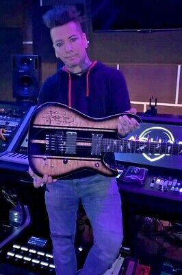 DJ Ashba Schecter Guitar 6 String Black Burst *SIGNED by Dj Ashba