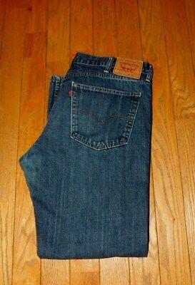 Men's Levi's 559 Straight Fit Blue Jeans Size 38x34!!!