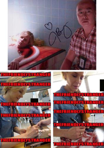 "Rare JULIE BENZ signed Autographed ""DEXTER"" 8X10 Photo PROOF - Rita's Death COA"