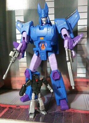 Loose Transformers KFC CT-02 Temptest  CYCLONUS Deluxe Weapons & Target master..