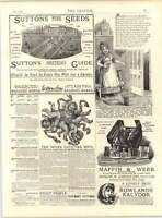 1887 Enoch Morgans Sons Samaritan Free Hospital Scudamore -  - ebay.co.uk