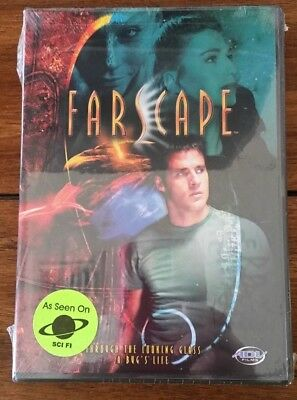 """New Farscape Sci Fi DVD """"Through The Looking Glass, A Bug's Life"""" Sealed"""