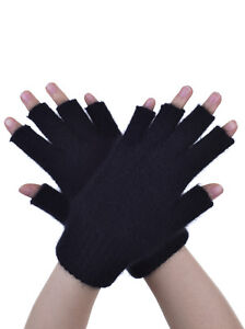 New-Zealand-Possum-Fur-Merino-Wool-Fingerless-Gloves