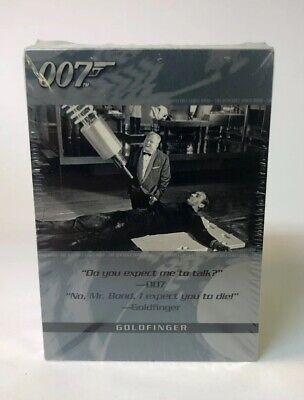 Sealed Pack Of James Bond 007 Goldfinger Cards