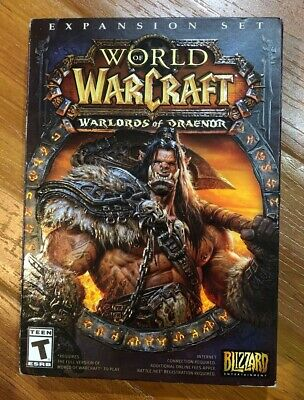 World of Warcraft - Warlords of Draenor Expansion Set Brand New SEALED!