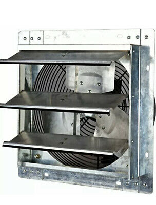 Iliving 12 - Model Ilg8sfv12v Shutter Wall Mounted Aluminum Exhaust Fan - New