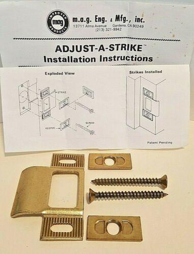 Locksmith MAG Adjust-A-Strike- Adjustable T- Strike NOS