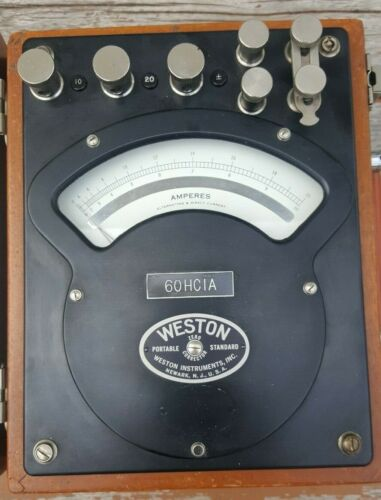 WESTON 370 AC/DC AMMETTER