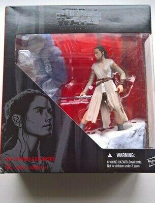 "STAR WARS Black Series The Force Awakens REY 6"" (STARKILLER BASE) Shipping Incl"
