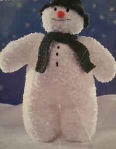 Knitting Pattern SNOWMAN CHRISTMAS TOY 16