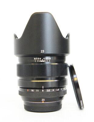 Fujifilm fujinon fuji  XF 23mm F1.4 R 23mm f/1.4 Wide Angle Lens