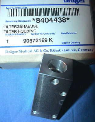 DRÄGER MEDICAL 840438 FILTERGEHÄUSE FILTER HOUSING ANESTHESIA PUMP SPARE PARTS Y