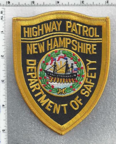 Department of Safety Highway Patrol (New Hampshire) 1st Issue Shoulder Patch