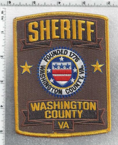 Washington County Sheriff (Virginia) 5th Issue Shoulder Patch