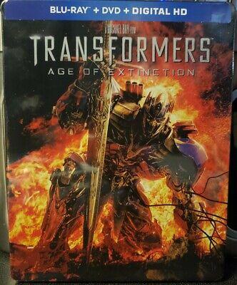 Transformers : Age Of Extinction STEELBOOK - (Blu Ray + DVD + Digital) Best Buy