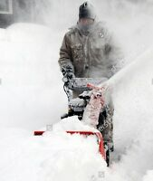 snow removal, snow shovelling