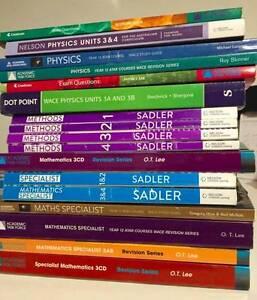 Year 11 12 ATAR Textbook Maths Physics English Economics WACE Morley Bayswater Area Preview