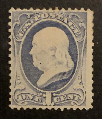 TDStamps: US Stamps Scott#206 1c Franklin Mint HR OG Thin