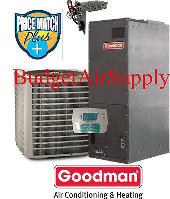 3 Ton 13 prophet Goodman  HEAT PUMP VSZ13036+ARUF37C14+Heat+ProgrambleTstat
