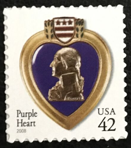 2008 Scott #4264 - 42¢ - PURPLE HEART - Single Stamp - Mint NH