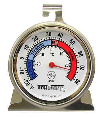 Stainless Refrigerator Freezer Cooler Thermometer -20 To 80 Trutemp 3507 Taylor