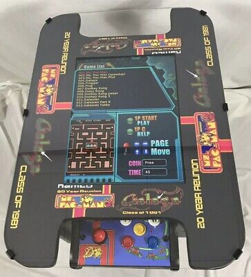 NEW MS PACMAN COCKTAIL TABLE 412 IN 1 (20in MONITOR) CLASSIC GAMES GALAGA