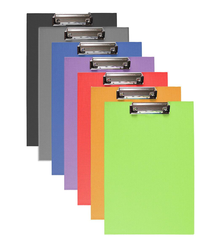 5-40x DIN A4 Klemmbrett Schreibbrett Schreibunterlage Klemmmappe Schreibplatte