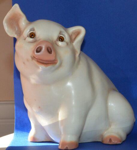 1984 Ceramic Pig Figurine by Universal Statuary Corporation