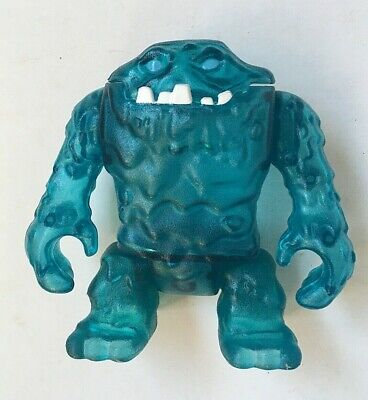 """Fisher Price Imaginex Ice Monster Clay Face-Blue-4 3/4"""" Tall"""