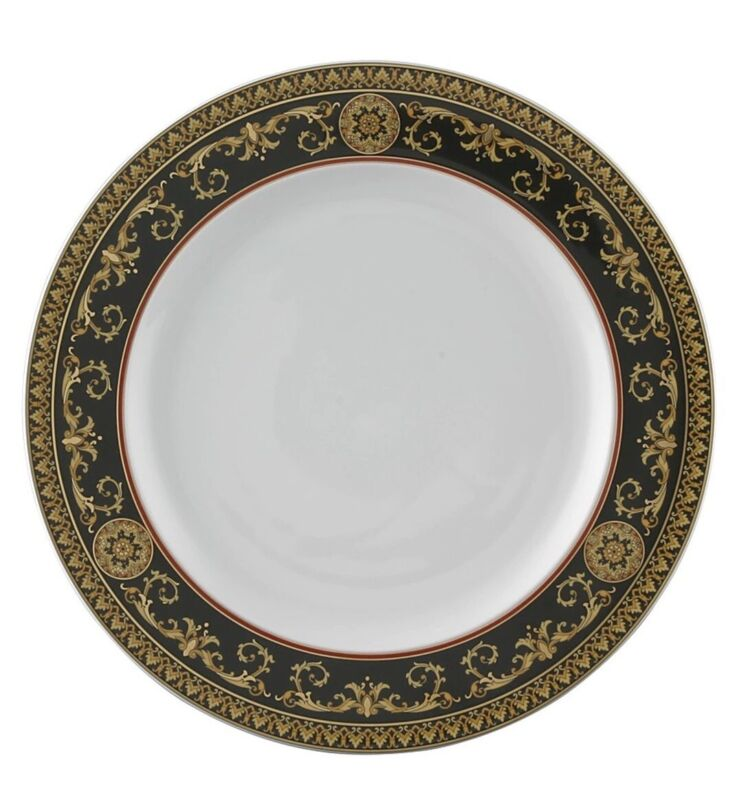 "VERSACE ROSENTHAL MEDUSA RED 10.5"" DINNER PLATE PLATES 13 Available"