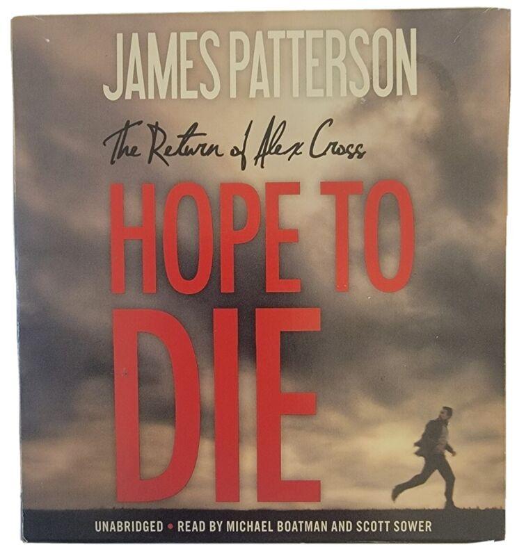 Hope to Die by James Patterson (Alex Cross #22) Unabridged CD Audio Book
