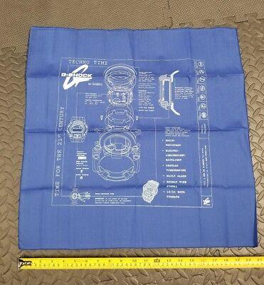 Casio G-Shock Work Mat Flag Cloth Poster (New)