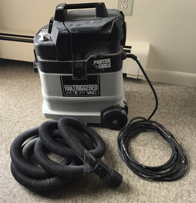 Porter Cable Power Tool Triggered Drywall Dustless Sanding Wet Dry Vacuum Vac