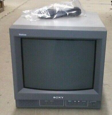 Sony PVM-14N5U Color CRT Video Monitor - Gaming