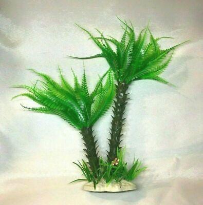 Plastic Palm Tree Decorations (Aquarium Decorative Plastic Plant - Big Palm)