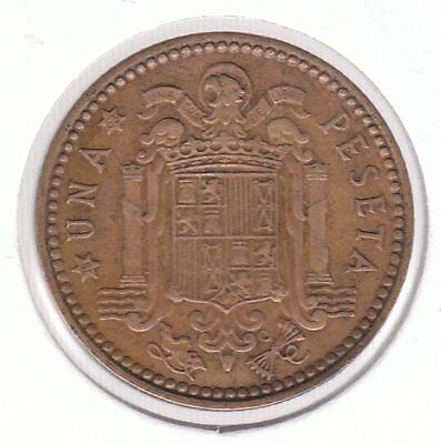 Spain 1953 (63) Peseta Aluminum-Bronze Coin